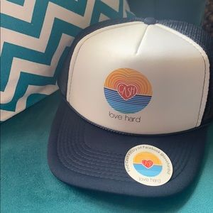 Love Hard trucker hat
